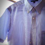 【アイロン】初心者でも5分でキレイに!ワイシャツのシワを伸ばそう(半袖編)