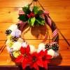ダイソーのリースを使用!ちょっとの手作りでクリスマス気分を盛り上げよう!