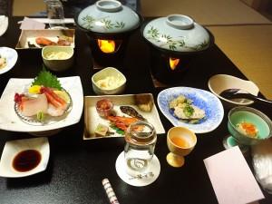 鷺の湯 夕飯