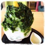 長野のおいしい「みはら胡蝶庵」のかき氷!雪みたいにフワフワで抹茶のほろ苦シロップが美味
