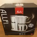 コーヒーメーカーを「メリタ ALLFI (オルフィ)」に決めた6つの理由!手軽に本格的な味が楽しめる