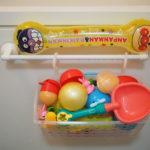 100均のカゴでお風呂のおもちゃを収納!選び方と設置のコツ【汚いカビ対策】